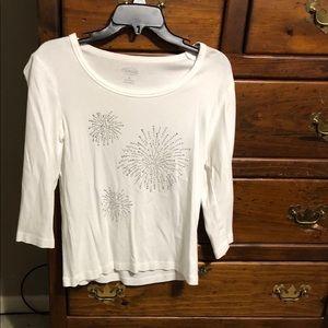 Women's Talbots knit shirt